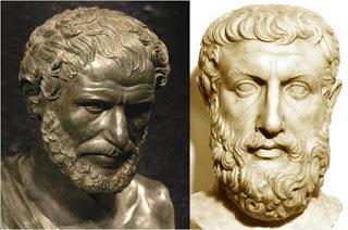 Heráclito - Parmenides